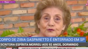 Escritora Zibia Gasparetto é enterrada em São Paulo