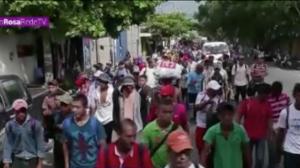 Trump ameaça refugiados com o exército estadunidense