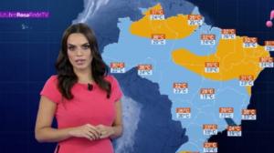 Alerta de temporal para Acre, Centro-Oeste e Sudeste do Brasil