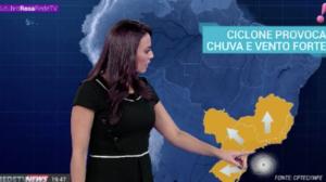 Ciclone promete chuvas e ventos fortes no Sul e Sudeste do Brasil