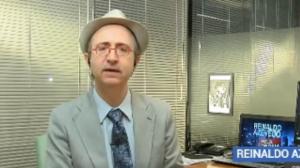 """Reinaldo Azevedo: """"Vejo com enorme satisfação a nomeação de Moro"""""""