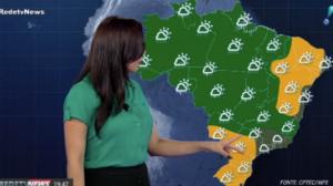 Alerta de chuva forte com ventania para o Mato Grosso