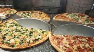 Pizza vira obra de arte nos Estados Unidos