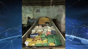 Operações contra o tráfico de drogas apreende 14 toneladas pelo país
