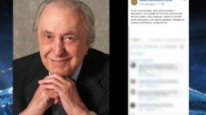 Empresário Fabrizio Fasano morre aos 84 anos