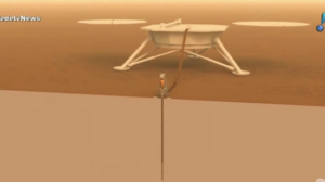 Cientistas da NASA comemoram pouso de sonda em solo marciano