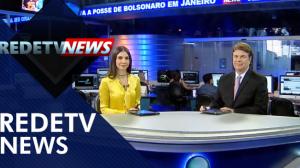 Assista à íntegra do RedeTV News de 05 de dezembro de 2018