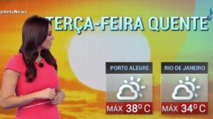 Porto Alegre registra 38°C em dia ensolarado, quente e seco