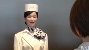 Robôs são demitidos de hotel após falhas no Japão