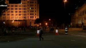 Protesto na Candelária, no centro do RJ, termina em confronto com a PM