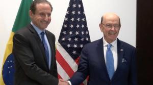 Skaf se reúne com secretário de comércio exterior dos EUA