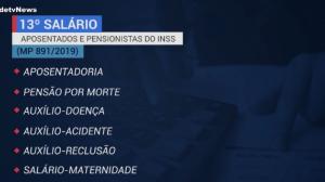 INSS inicia pagamento da primeira parcela do 13º dos aposentados