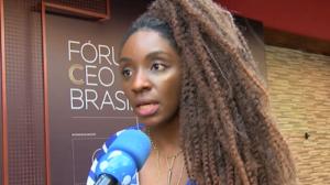 Nina Silva fala sobre o Movimento Black Money no Fórum CEO Brasil