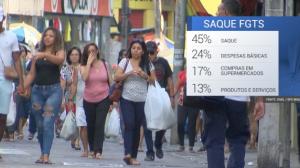 Saques do FGTS: 9,7 milhões usarão valor do benefício para quitar dívidas