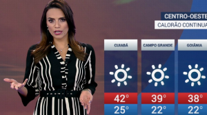 Previsão do tempo: Calor em Cuiabá pode chegar a 42°C na quarta (18)