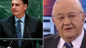 Não seria Bolsonaro se fala na ONU não fosse impetuosa, diz Boris Casoy