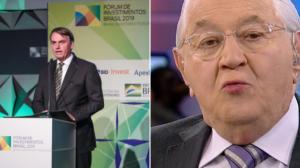 Brasil tem tudo para ser porto seguro para investimentos, diz Boris Casoy