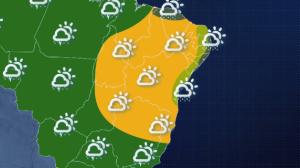 Previsão do tempo: Santa Catarina terá tempo fechado e chuva nesta sexta