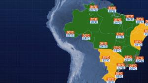 Previsão do tempo - Belo Horizonte tem alerta para temporal na terça (19)