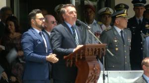 """Bolsonaro: """"não se deve descansar sem democracia na América do Sul"""""""