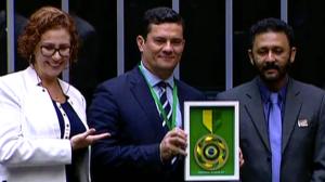 Ministro Sergio Moro é homenageado no dia de combate à corrupção