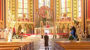 Mil são esperados para a Missa de Natal da Basílica de Nsa. Sra. do Rosário