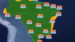 Previsão do Tempo: Florianópolis terá máxima de 29° C na quarta-feira (8)