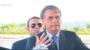 """É direito dele"", diz Bolsonaro sobre Toffoli adiar juiz de garantias"