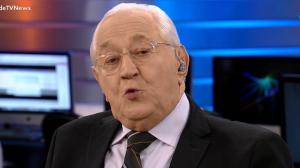 """Boris Casoy sobre crise da água: """"Deus proteja a população do RJ"""""""