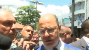 Witzel diz que problema com água no Rio será solucionado na próxima semana