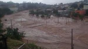 Chuvas intensas causam alagamentos e deslizamentos em MG