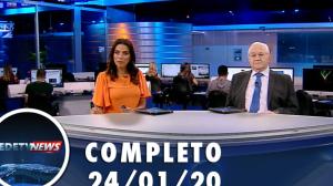 Assista à íntegra do RedeTV News de 25 de janeiro de 2020