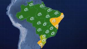 Previsão do tempo: Sol predomina no nordeste nesta quarta-feira (26)