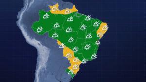 Porto Alegre tem máxima de 32ºC na terça