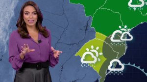 Terça-feira (14) será de chuva em Porto Alegre
