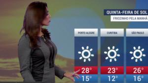 Curitiba terá mínima de 12ºC nesta quinta-feira (23)