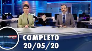 Assista à íntegra do RedeTV News de 20 de maio de 2020