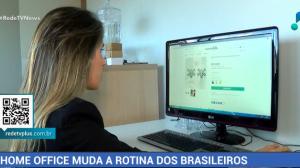 Home office muda a rotina dos brasileiros