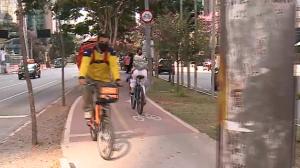 Paulistanos vão andar mais a pé e de bicicleta após pandemia, diz pesquisa