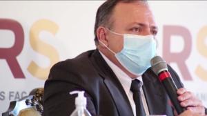 Pazuello anuncia envio de respiradores para o Rio Grande do Sul