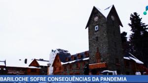 Bariloche sofre consequências da pandemia