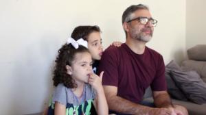 Policial civil comemora recuperação da filha que venceu a leucemia