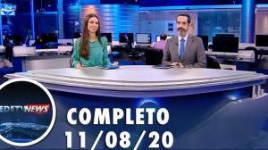 Assista à íntegra do RedeTV News de 11 de agosto de 2020