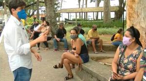 Ilhabela registra aglomerações durante feriado do Dia da Independência