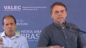 """Estamos vencendo a pandemia"", diz Jair Bolsonaro"
