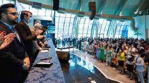 Presidente defende combate à pandemia no Brasil