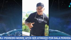 Pedreiro morre após ser atingido por bala perdida no Rio de Janeiro