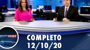 Assista à íntegra do RedeTV News de 12 de outubro de 2020