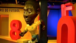 Museu do Futebol reabre exposição sobre Pelé