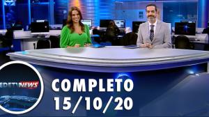 Assista à íntegra do RedeTV News de 15 de outubro de 2020